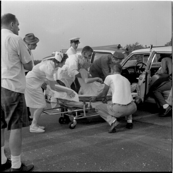 Levittown Car Accident 1964